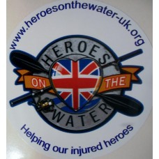 Heroes on the Water Sticker